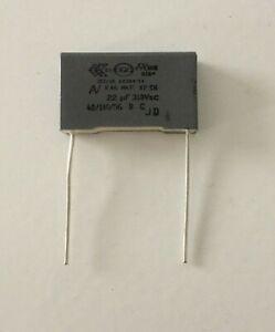 Condensateur MKP X2 0.22uF 0,22µF 220nF 275V 310V 22,5mm
