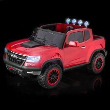 SPORTrax Offroad 4WD Kids Ride On Truck w/MP3 Player/Remote Control - P Red