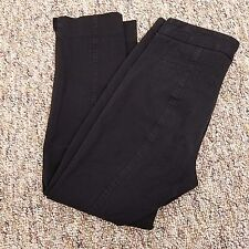 Not Your Daughter's Jeans Pants Women's Size 4P 30 x 25 Black Ankle Length
