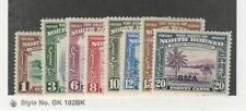 North Borneo, Postage Stamp, #208//217 Mint LH, 1945, JFZ