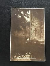 Somerset - Wells - Swan Ringing Bell For Food Palace Moat - Real Photo 1932