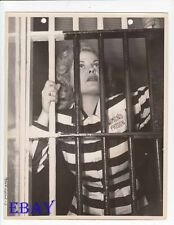Cleo Moore sexy inmate VINTAGE Photo Women's Prison promo