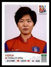 Panini Women's World Cup 2015-ji Soyun Corea del Sur nº 363
