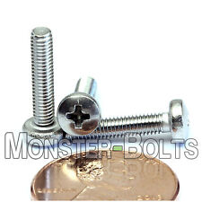 M3 x 14mm - Qty 10 - Stainless Steel Phillips Pan Head Machine Screws DIN 7985 A