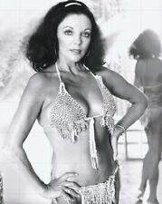 "JOAN COLLINS - 10"" x 8"" b/w Photograph EROS Adult Magazine Shoot 1978 #761"