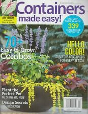 Garden Gate Magazine Containers made Easy! Spring 2019 Easy-to-Grow Combos