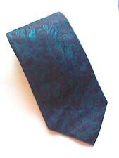 Vintage CHRISTIAN DIOR 100% SILK paisley Tie
