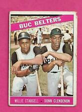 1966 TOPPS # 99 PIRATES WILLIE STARGELL VG  CARD (INV# A8145)