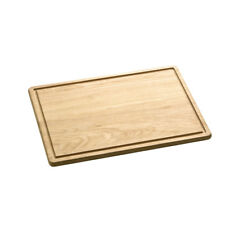 Large Chopping Board Birch Wood Food Cutting Slicing Worktop Kitchen Protector