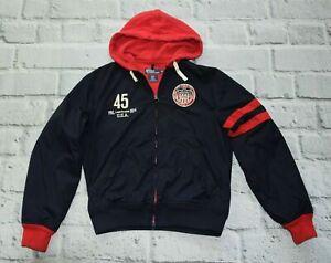 RALPH LAUREN track hooded jacket winter event vancouver olympic USA M medium
