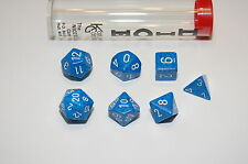 7pc WATER Elemental DICE D&D D20  RPG