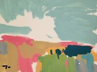 """JOSE TRUJILLO NEW LANDSCAPE ORIGINAL COLLECTIBLE ACRYLIC on Paper PAINTING 9x12"""""""