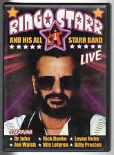 dvd RINGO STARR AND HIS STARR BAND LIVE
