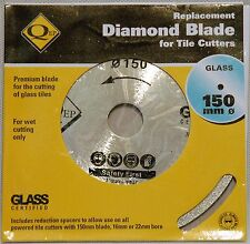 QEP Diamond Replacement Tile saw blade 150mm 16mm 22mm bore Glass cutter