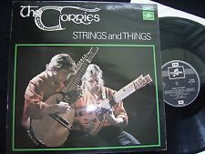 THE CORRIES - STRINGS AND THINGS - COLUMBIA 1970 LP VG+/EX