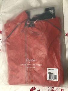 Brand New Orange Rapha Hardshell Winter Jacket Size Extra Small XS Rrp £250