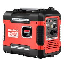 2000W Portable Inverter Gasoline Generator Quiet Lightweight 4 Stroke Cylinder