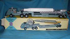 567A Antique FJ France Jouet 203 Convoi lancement fusée spatiale 1/55 Boite