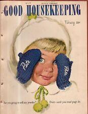 1947 Good Housekeeping February - Dachshund; Gil Elvgren; Infertility; Given up?