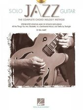 Solo Jazz Guitar - The Complete Chord Melody Method Guitar Educational 000695968