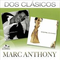 Dos Clasicos by Marc Anthony (CD, Mar-2011, 2 Discs) NEW