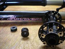 Carver Bikes Trans-Fat Suspension Fat Bike Fork Tapered Steerer with Hub