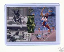 1996 UD OLYMPIC CHAMPIONS BOB BEAMON  MIKE POWELL CARD #121 ~MULTIPLES AVAILABLE
