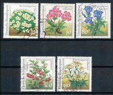 Bundespost 1505-1509 gestempeld motief bloemen