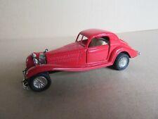 642K Jouet à Friction Chine Mercedes 540K Rouge L 12 cm