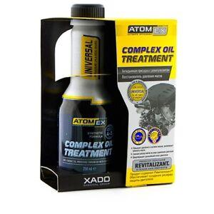 XADO Advanced AtomEx STOP SMOKE Petrol Diesel Turbo Engine Additive Treatmenent