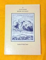 A Country Book of Days by Robin and Heather Tanner seasons illustrated used HB