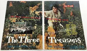THE THREE TREASURES__Original 1959 Trade AD promo / poster__TOSHIRO MIFUNE