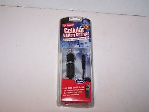 GE Sanyo NIP new car Cellular Battery Charger use with Nokia 5100 6100 7100