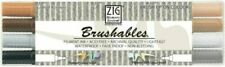 ZIG Memory System Brushables Dual-Tip Markers 4/Pkg-Brown *2