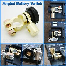 Battery Isolator Switch Cut Off Angled Universal - Space Saver - Quick