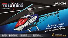 Free Shipping-ALIGN T-REX 550X Combo RH55E19XW New