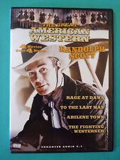 Rage at Dawn / Fighting Westerner / Abilene Town / Last Man (Randolph Scott) #B5