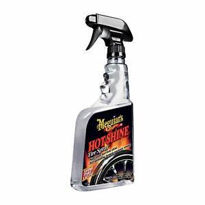 Meguiar's G12024 Hot Shine Tire Spray, 24 oz