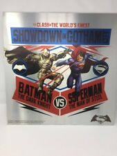 Batman Vs Superman metal cartel impresión