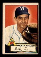 1952 Topps #90 Mickey Grasso G/VG X1308075