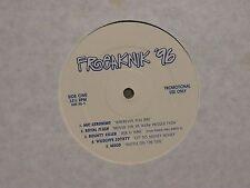 FREAKNIK '96 - LP PROMO EX/EX+ MIC GERONIMO BOUNTY KILLER ROYAL FLUSH MOOD CHINA