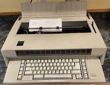 Vintage Ibm Wheelwriter 3 Iii Electronic Electric Typewriter Type 674x