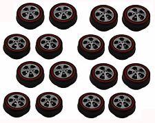 16 Brightvision Redline Wheels – 16 Small Hong Kong Bearing Style- Bright Chrome