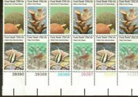 Scott 1827-30 - Coral Reefs Plate Block Of 12 (15 Cent) Stamps - OG - NH - MINT