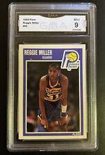 1989 Fleer (#65) Reggie Miller Indiana Pacers HOF GMA 9