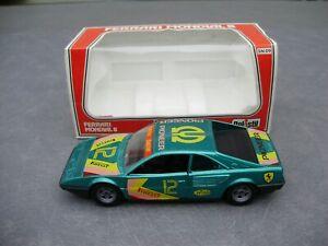VINTAGE POLISTIL 1/25 FERRARI MONDIAL 8 DIE-CAST CAR (SN 09) with BOX