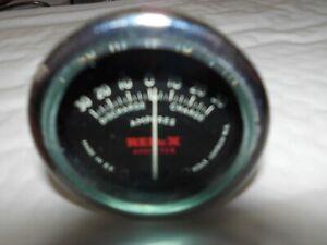 VINTAGE CLASSIC REDEX 30/30 AMPMETER GAUGE