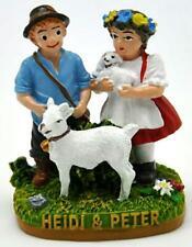 Heidi & Peter Berge Alpage Chèvre Poly Prêt Modèle, Souvenir Suisse Suisse, Neuf