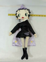 Vtg 1999 Betty Boop Cloth Doll ~ Halloween Collection ~ Cape Betty ~ Ships FREE