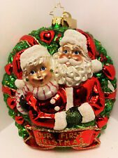 Christopher Radko Ornament Our First Christmas 1017317 , 6'' tall